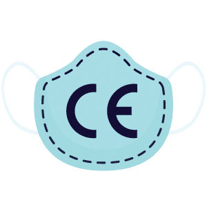 Mondkapje kopen met CE markering